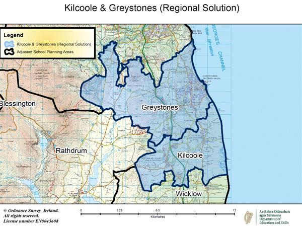 School Planning Area Map