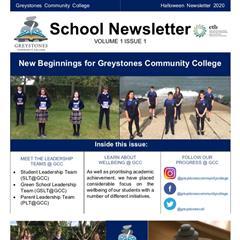 School Newsletter - Volume 1 Issue 1