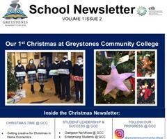 School Newsletter - Volume 1 Issue 2