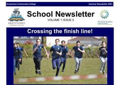 School Newsletter - Volume 1 Issue 5