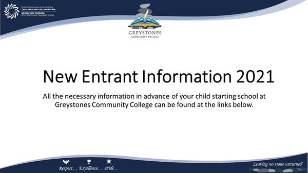 Back to School Information - 1st Year 2021
