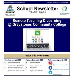 School Newsletter - Volume 1 Issue 3