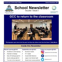School Newsletter - Volume 1 Issue 4